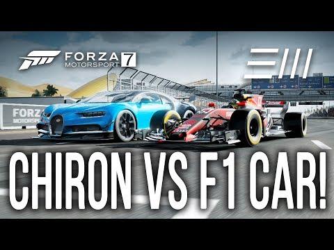 Forza 7 - *FULLY UPGRADED* 2018 Bugatti Chiron vs