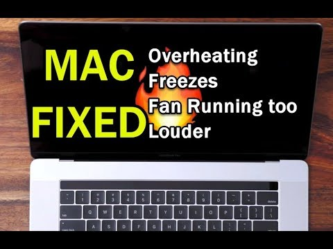 Solved Macbook Pro Overheating Freezes And Fan Running Louder Issue Youtube