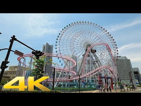 Walking around Yokohama Minatomirai, Kanagawa pref. - Long Take【神奈川・横浜みなとみらい】 4K