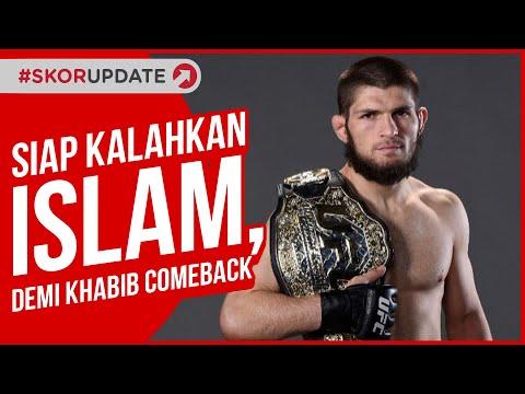Petarung Veteran UFC Ini Percaya Diri Akan Kalahkan Islam dan Membuat Khabib Comeback