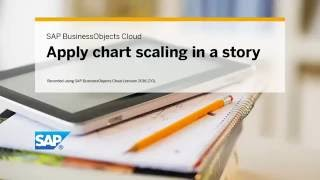 Apply chart scaling in a story: SAP BusinessObjects Cloud (2016.17.0)