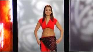 Восточный танец с Валерией Путицкой для начинающих. Урок 7