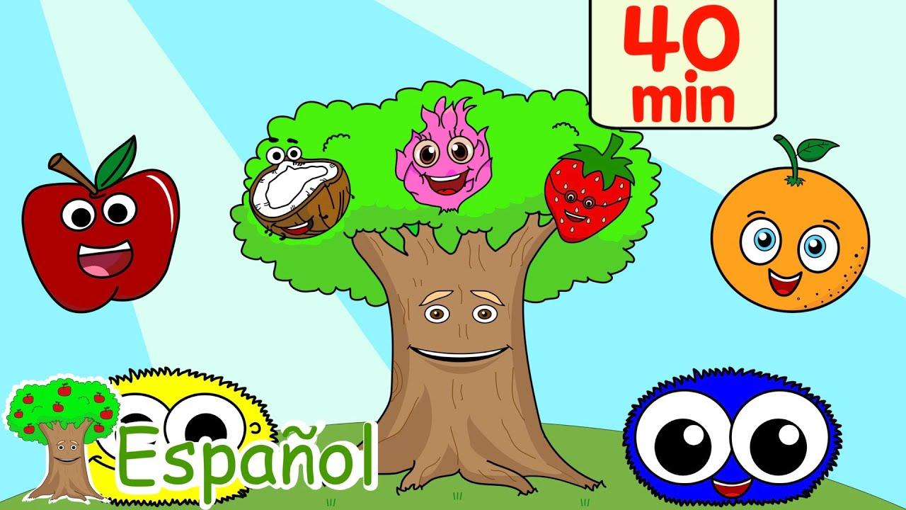 Frutas, Colores, Formas y Canciones Infantiles | Rima Infantil