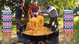 Easy Egg Noodles Recipe | Restaurant Style Egg Hakka Noodles Recipe | Grandpa Kitchen