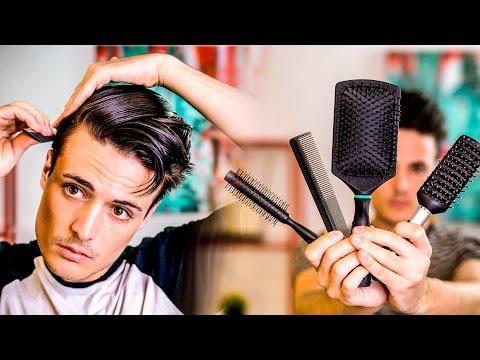 GOOD Mens Hair Tips   Picking the BEST Brush For Your Hair   2017