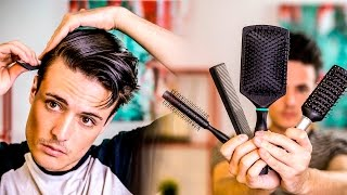 GOOD Mens Hair Tips | Picking the BEST Brush For Your Hair | 2017