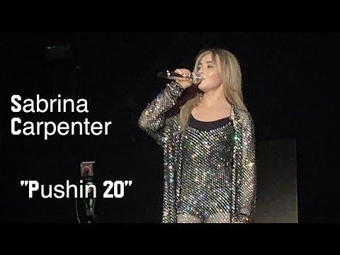 """Sabrina Carpenter - """"PUSHIN 20"""" (Singular Act 2 new song) Mp3"""