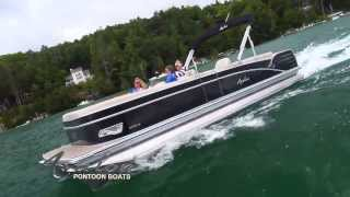 2014 Pontoon Boats - Avalon Catalina Quad Lounge - Avalon Pontoons - Affordable