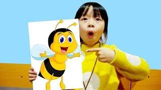 Hunter Kids Go To School Learn Colors Bee | Classroom Funny Nursery Rhymes
