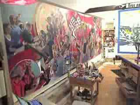 Man for Hire: Time Lapse of Mural Commission