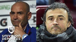 """Jémez: """"Si a Luis Enrique se le puso el pelo gris en el Barça, en México queda calvo"""""""