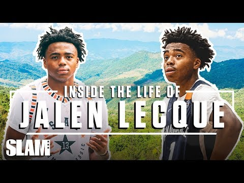 JALEN LECQUE: Inside the Life of Baby Westbrook 😈   SLAM Day in The Life