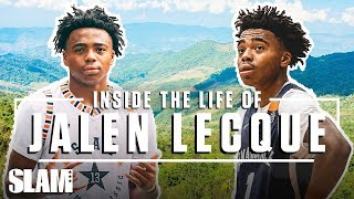 JALEN LECQUE: Inside the Life of Baby Westbrook 😈 | SLAM Day in The Life Video