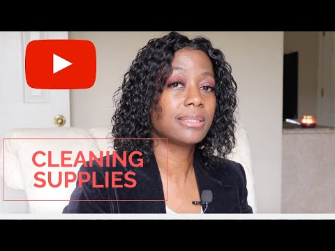 Supplies Needed For A Cleaning Business