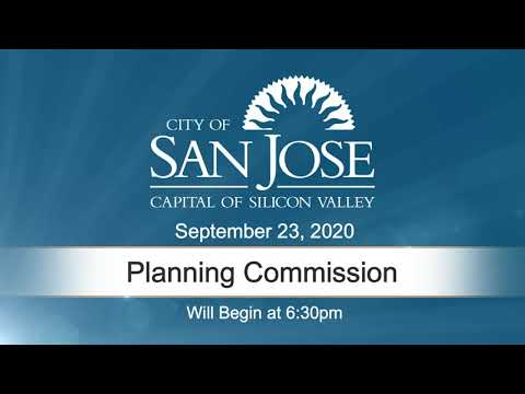 SEP 23, 2020 | Planning Commission