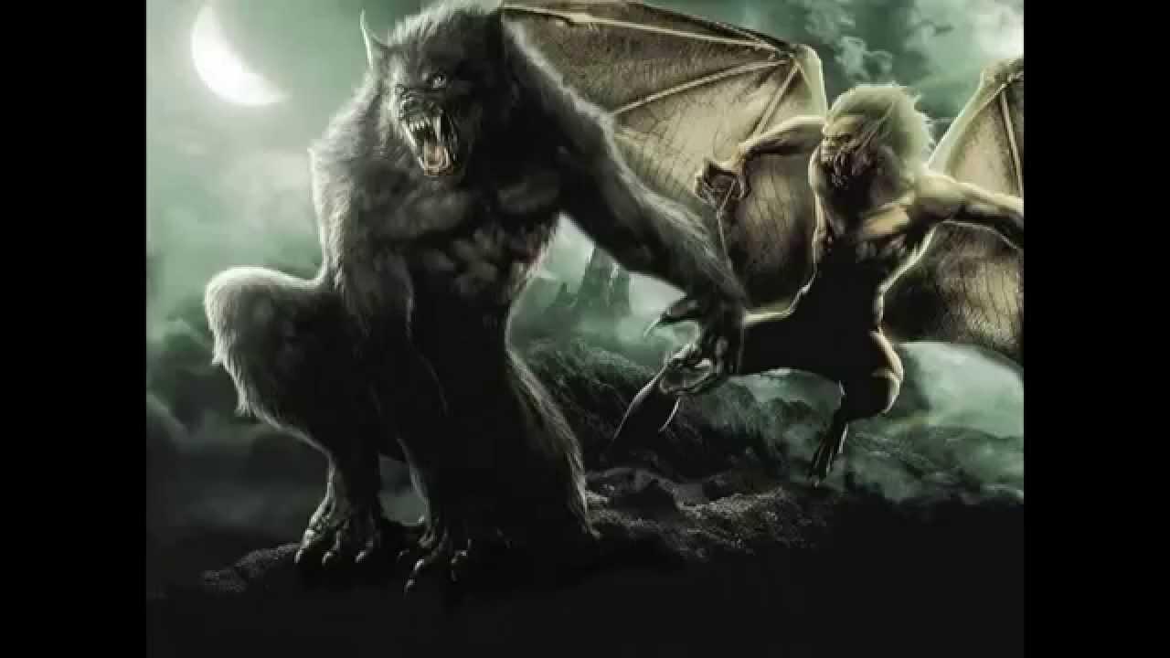 Werwolf Vs Vampir