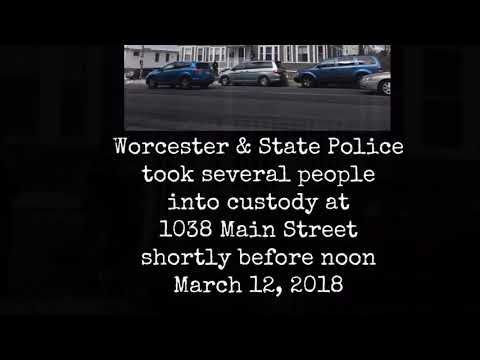 Worcester Police activity on Main Street