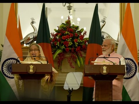 PM Modi at the Joint Press Statement with Bangladesh PM Sheikh Hasina, New Delhi