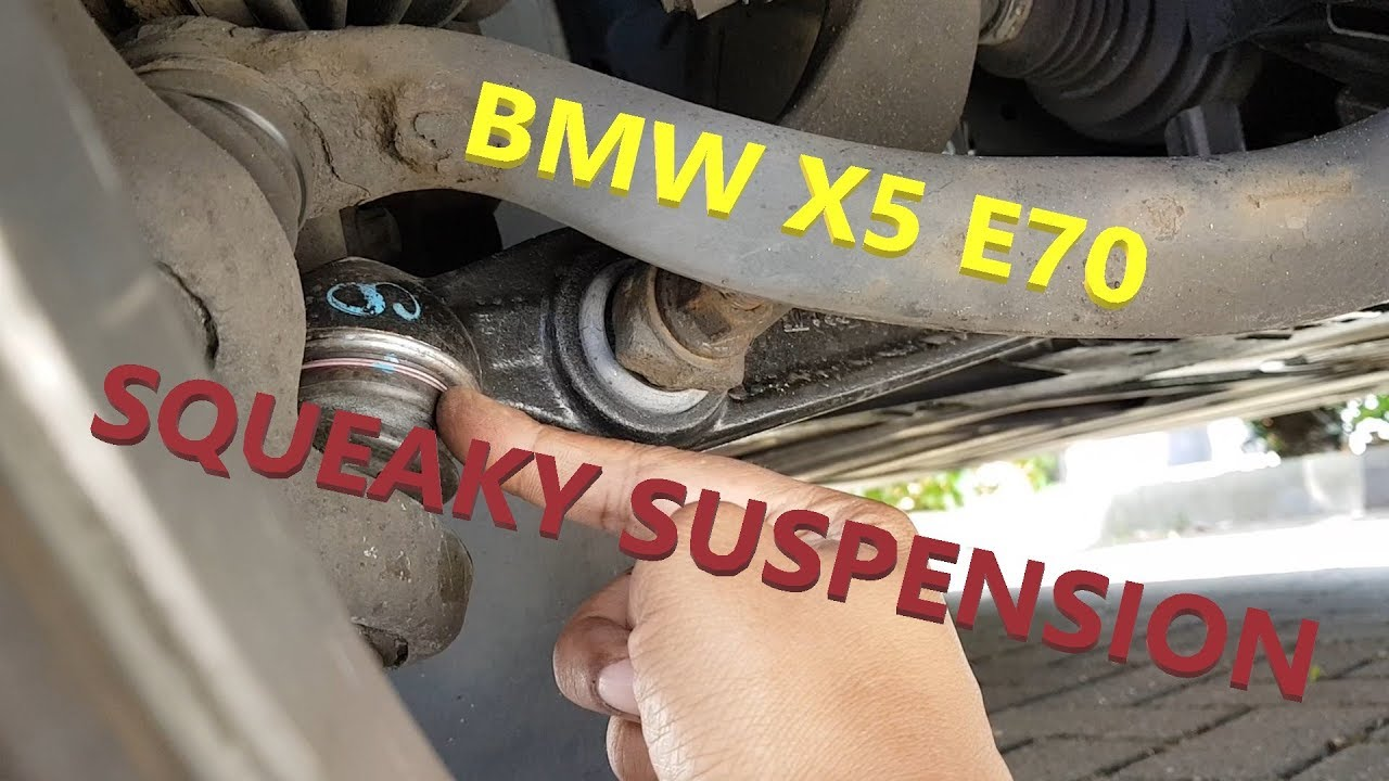bmw x5 squeaky noisy suspension [ 1280 x 720 Pixel ]
