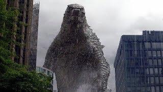 "Godzilla vs. MUTO ""Let Them Fight"" Scene - Godzilla (2014) Movie Clip HD"