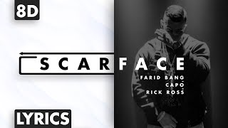 8D AUDIO | Farid Bang x Capo x Rick Ross - Scarface (Lyrics)