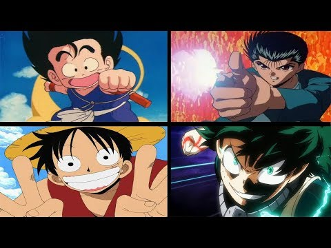 Evolution of Weekly Shōnen Jump (1968-2016) by Anime Openings