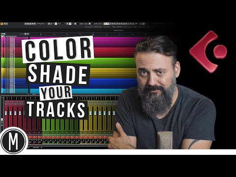CUBASE TIPS – How to COLOR SHADE your TRACKS | MIXDOWN Q&A