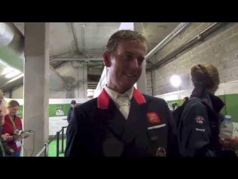 HorseJunkiesUnited.com -  Carl Hester FEI World Equestrian Games Normandy
