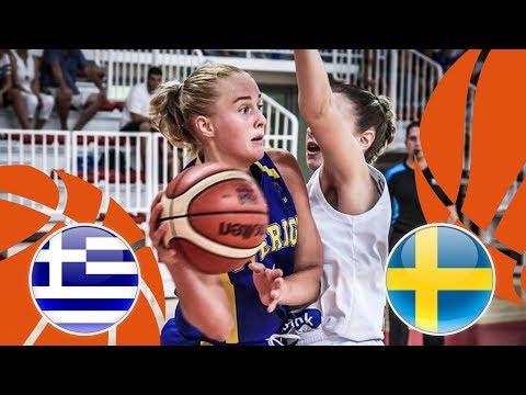 Greece v Sweden – Final – Full Game – FIBA U16 Women's European Championship Division B 2018
