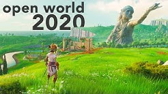 Top 10 NEW Open World Games of 2020