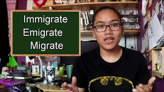 Homonym Horrors: Immigrate, Emigrate, Migrate - Civil Service Exam Review thumbnail