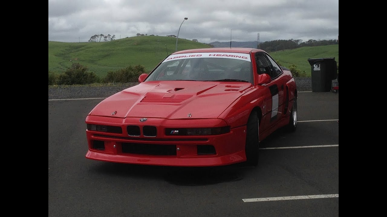 BMW M8 Supercar (Venus) Roars Past - YouTube