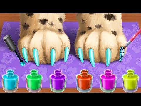Play Jungle Animal Hair Salon - Wild Pets Haircut & Style Makeover Fun Kids Games By TutoTOONS