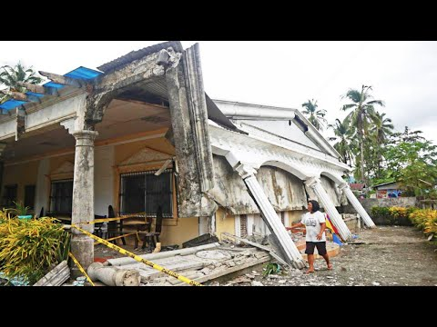Strong and shallow M6 1 earthquake hits Mindanao, Philippines / Natural Disasters. Weather. Сlimate