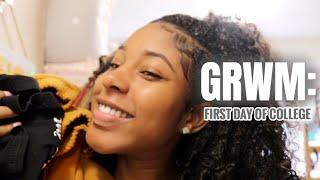 GRWM: first day of college (FRESHMAN) | University of Georgia