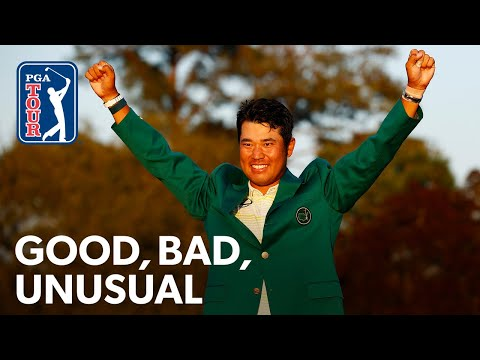 McIlroy hits his dad, Hideki makes history, DeChambeau crashes disc golf match
