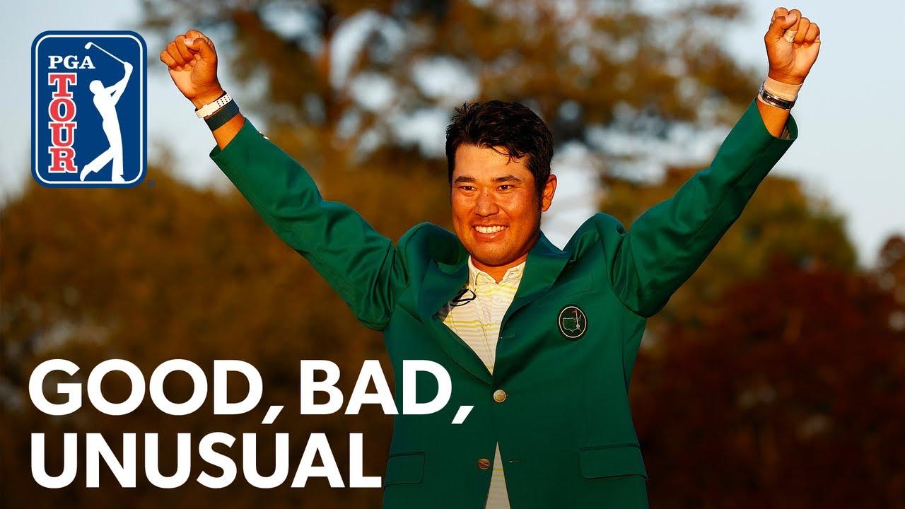 McIlroy hits his dad, Hideki makes history, DeChambeau crashes disc golf match