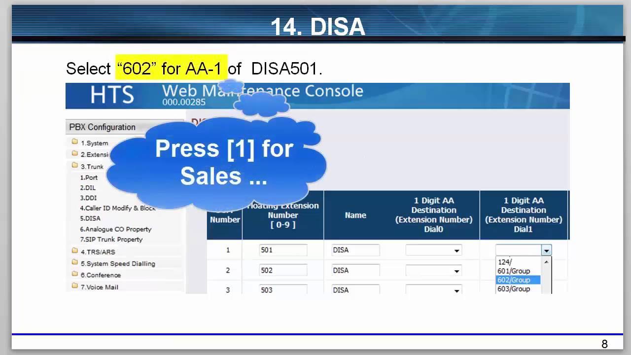 Panasonic KX-HTS Series Setup Guide aid 02-01-01 (Incoming Call Settings /  Part1)