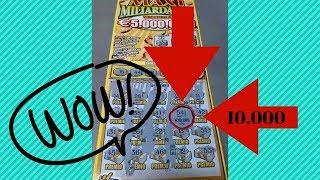 gratta e vinci nuovo maxi miliardario vincente! - ho vinto! 100 euro vinti! - grande vincita!