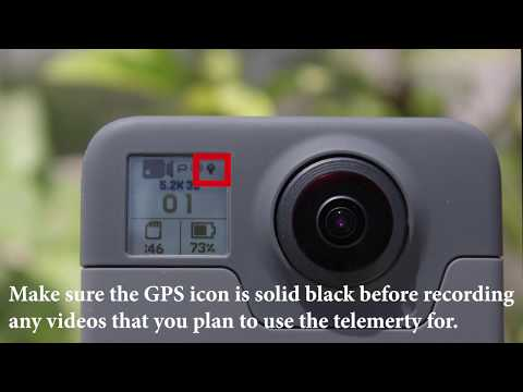 Gopro Fusion GPS Telemetry Tutorial