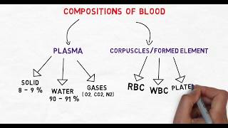 Compositions and Functions Of Blood.