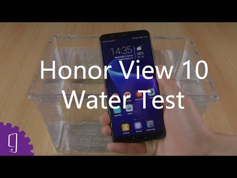 promo code 582b8 bcdf9 Is Huawei Honor View 10 Waterproof?丨Water Test丨Unbelievable!!!