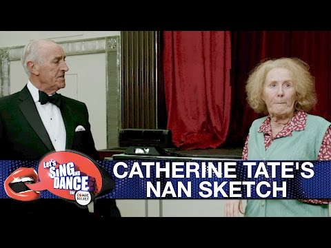 Catherine Tate's Nan sketch - Let's Sing and Dance for Comic Relief 2017: Preview - BBC One