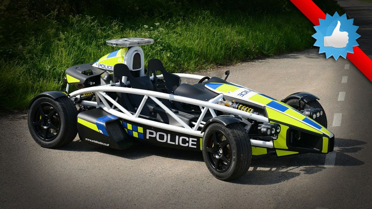 2015 Ariel Atom PL Police Car: Special Edition - YouTube