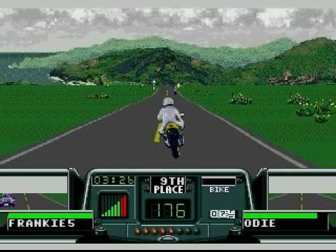 Road Rash 3 - UK - Level 5 - 1st Place