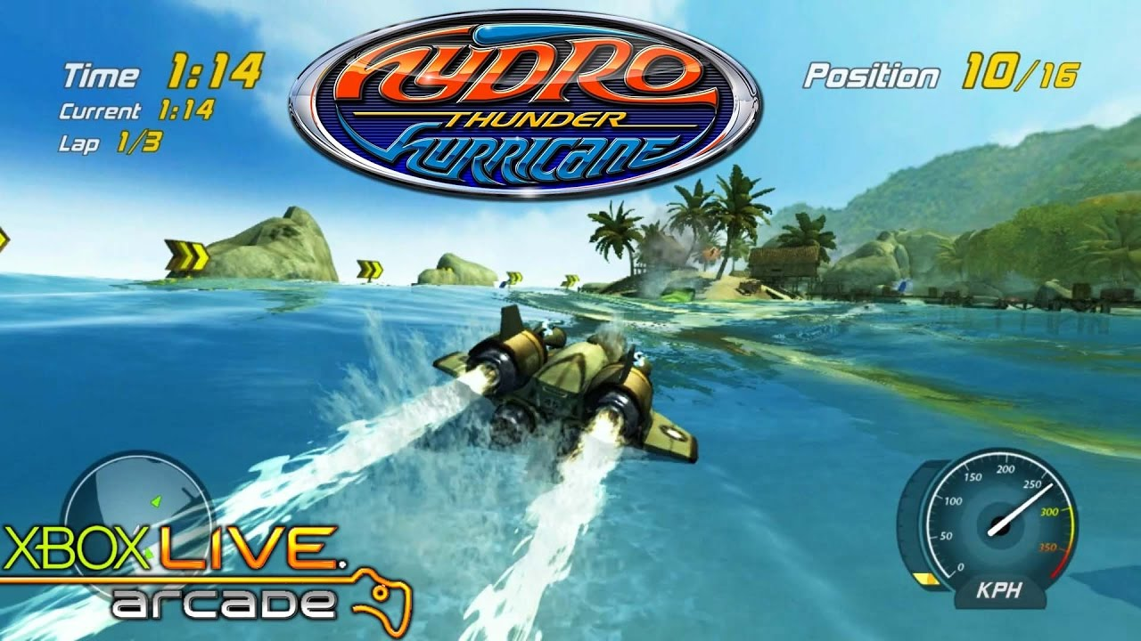 Hydro Thunder Hurricane - Xbox 360 / XBLA Gameplay (2010) - YouTube