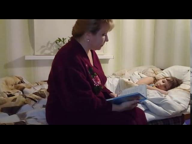 Изображение предпросмотра прочтения – АринаЕлина читает произведение «Морозко» (Русский фольклор )