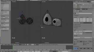 How to make a flat cartoon eye track an empty in Blender - Eye rigging