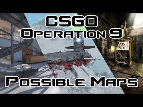CS:GO Operation 9 Map Pool Prediction