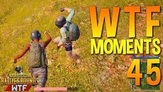 PUBG  WTF Funny Moments Highlights Ep 45 (playerunknown\'s battlegrounds Plays)